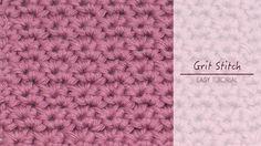 Hopeful Honey | Craft, Crochet, Create: How To: Crochet The Grit Stitch