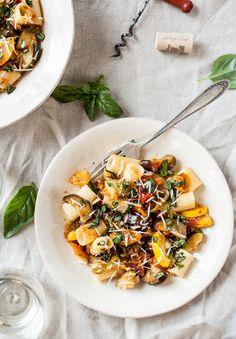 ... | Summer Harvest Ratatouille with Pasta from @dishingupdirt