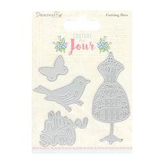 Dovecraft Couture Du Jour Steel Cutting Die, Multicoloured No description (Barcode EAN = 5050489064289). http://www.comparestoreprices.co.uk/december-2016-5/dovecraft-couture-du-jour-steel-cutting-die-multicoloured.asp
