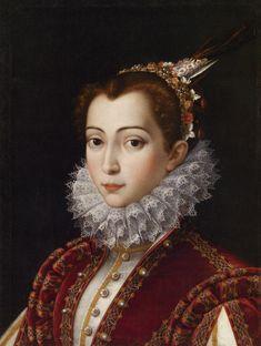 Сципиона Pulzone (Гаэта, с 1542 или 1543 -. 1 февраля 1598), известный также как Il Гаэтано - Неизвестная, c.1575 - возможно, Виттория Аккорамбони Орсини (1557-85).
