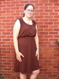 Peasant dress tute.