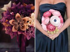 DIY Paper Flower Bridal Bouquet — Crafthubs