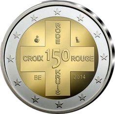 2 Euro 2014 150 Years of Red Cross in Belgium