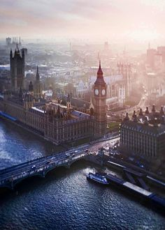 London, Big Ben and the Houses of Parliament