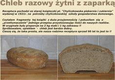 Chleb żytni z zaparką