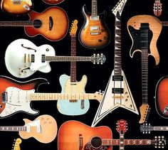 Guitar Wrapping Paper. Now there's special gift wrap paper with a guitar theme. Wrap those special gifts with something colorful that aligns with their passion. This guitar wrapping paper is just the right touch!   http://store.drumbum.com/skuG-27.html