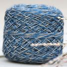 Windy Valley Muskox Qiviut Luxury Blend in 2020M Hanna Blue Marled