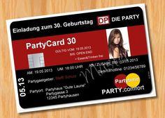 Einladungskarten   Einladungskarten Geburtstag LUSTIGE 18 30 40 50 60   Ein  Designerstück Von Ausgefallene