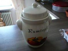 Rezept: Rumtopf  Grundrezept !!