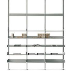 shelving system 606 for De Padova by Dieter Rams