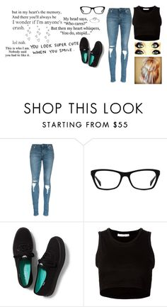 """""""Just Deal"""" by troylerzalfie ❤ liked on Polyvore featuring Ray-Ban, Keds, Julien David, Mondevio, Brinley Co, women's clothing, women, female, woman and misses"""