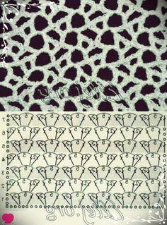 New crochet shawl pattern diagram haken 26 ideas Crochet Squares, Crochet Motifs, Freeform Crochet, Crochet Diagram, Crochet Stitches Patterns, Filet Crochet, Crochet Shawl, Knitting Stitches, Knitting Patterns