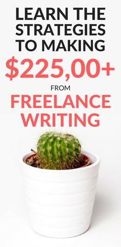 How to make money and earn more money as a freelance writer. Are you a blogger who wants to add paid writing jobs to your portfolio? An excellent writer who has trouble finding paid work? A stay-at-home-mom who wants to turn solid writing skills into a career? Find out how Holly went from making $0 to $225,000+ using these strategies.