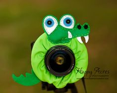 Lens Bling - Crocodile- Ready to Ship. $19.00, via Etsy.