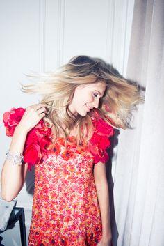 Poppy Delevingne + CHANEL Couture #fashion // February