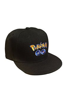 c5cc3c95358 POKEMON GO Embroidered Unisex Baseball Cap (Black) – Pokemon Cap