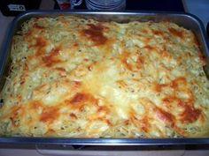 Spaghettiauflauf mit Spaghetti und Paprikaschote frisch - Rezept mit Bild - kochbar.de