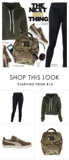 """""""Street Style"""" by pokadoll ❤ liked on Polyvore featuring Puma, Frends, polyvoreeditorial and polyvoreset"""
