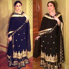Kareena Kapoor Khan in Sukriti & Akriti, Myfashgram Indian Wedding Outfits, Indian Outfits, Pakistani Dresses, Indian Dresses, Indian Maternity Wear, Maternity Outfits, Stylish Maternity, Indian Designer Suits, Bollywood Fashion