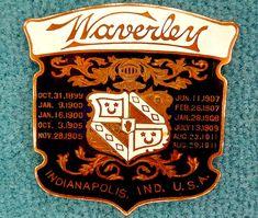 La marque de voitures Américaine Waverley fut fondée en 1898, et cessa son activité de construction automobile en 1916.