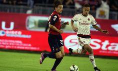 Finisce 1-1 tra il Cagliari e i rossoneri