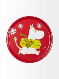 Moomin christmas tray/  Stockmann.com