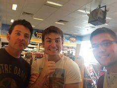 Ryan, Em, and Colm
