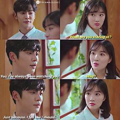 Korean Drama Quotes, Staring At You, Drama Memes, Kdrama Actors, Drama Korea, Drama Film, Getting Bored, Always Be, Be Yourself Quotes