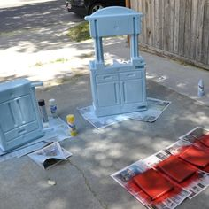 DIY little tikes kitchen makeover fail