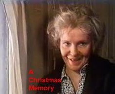 """Geraldine Page as Cousin Sook in """"A Christmas Memory"""" by Truman Capote - FANtastic! Geraldine Page, Plays, Films, Memories, Actors, Christmas, Games, Movies, Memoirs"""