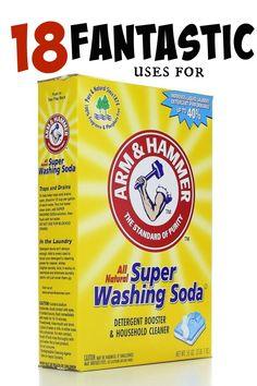 18 Fantastic uses for washing soda around the home   PreparednessMama
