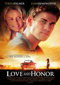 Check out the latest images and a completely new poster for LOVE AND HONOR, starring Liam Hemsworth and Teresa Palmer! Netflix Movies To Watch, Good Movies To Watch, Top Movies, Romance Movies, Drama Movies, Love Movie, Movie Tv, Best Romantic Movies, Movie Hacks