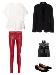 """""""uno"""" by maria-l-v on Polyvore featuring moda, Yves Saint Laurent, Accessorize y Maesta"""
