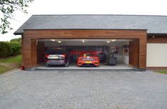 Adorable modern carports garage designs ideas (43)
