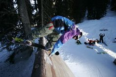 Avoriaz ecological snowpark: the stash, first giant ecological snowpark in europe - Avoriaz