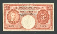 http://www.ebay.com/itm/JAMAICA-5-SHILLINGS-1-11-1940-VF-KING-GEORGE-VI-SCARCE-BANKNOTE-/160634399635?pt=Paper_Money=item25668e6b93