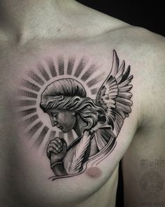 Baby Tattoo Designs, Half Sleeve Tattoos Designs, Forearm Sleeve Tattoos, Angel Tattoo Designs, Tattoo Design Drawings, Chicano Style Tattoo, Neo Tattoo, Praying Hands Tattoo, Christ Tattoo