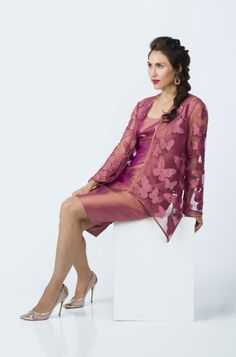 Marisa Baratelli - Spring'15  #MarisaBaratelli #ThaiSilk #DemiCouture #MotheroftheBride #MotheroftheGroom #MotherOf #SpecialOcassion #Color