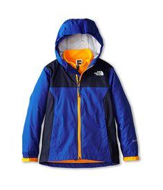The North Face Kids Kikori Rain Triclimate® Jacket (Little Kids/Big Kids) Monster Blue - 6pm.com
