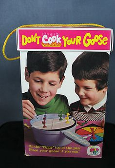 1970 Schaper Cootie Don't Cook Your GOOSE Game
