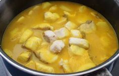 Cadiz, Fish And Seafood, Cheeseburger Chowder, Thai Red Curry, Salmon, Soup, Cooking, Ethnic Recipes, Flan