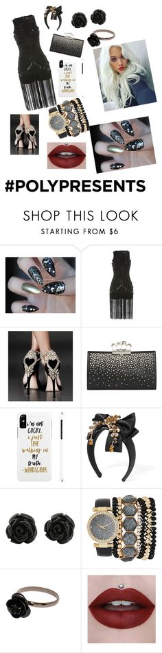 """""""#PolyPresents: New Year's Resolutions"""" by tiffany-smith-xiii ❤ liked on Polyvore featuring Starry Eyed, Alexander McQueen, Dolce&Gabbana, Jessica Carlyle, contestentry and polyPresents"""