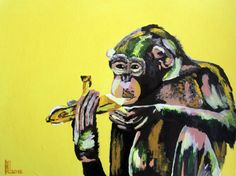El mono cromático
