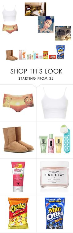"""(Day 3-Part 5) Epcot -"" by krissyk-15 on Polyvore featuring Topshop, UGG Australia, Clinique, Yes To, Herbivore and Disney"