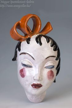 Lany, Halloween Face Makeup, Bows, Ceramics, Gallery, Hall Pottery, Arches, Pottery, Bow