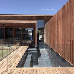 Just add water! Barwon Heads beach house approaching completion. Built by @projectgroup #bowerarchitecture #barwonheads #beachhouse #beachpool #timberscreen | Bower Architecture | bowerarchitecture Instagram Photo Profile