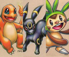 *Umbreon is sold These are ORIGINAL drawings, not prints. These are my own interpretations of Pokemon, hand drawn in unique positions and in my own. Deadpool Pikachu, Pikachu Pikachu, Pokemon, Pencil Drawing Tutorials, Pencil Drawings, Drawing Tips, Sketching Tips, Prismacolor, Designs To Draw