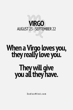 Virgo - SO true!