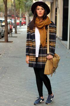 #streetstyle #tartan #plaid #zara #fashion