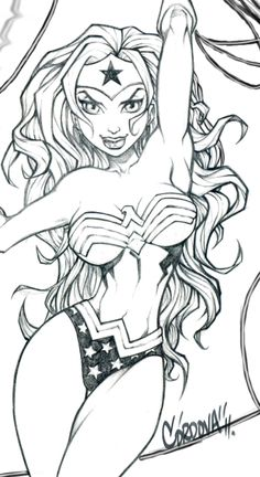 Wonder Woman Festo Print WIP by renecordova on deviantART
